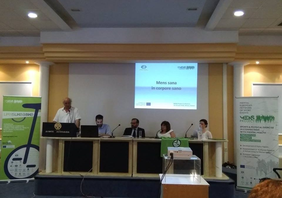 MENS Project and Beyond. The opening speech at the final Conference of MENS Project